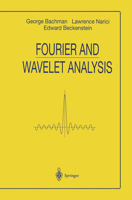 Cover of 'Fourier and Wavelet Analysis'