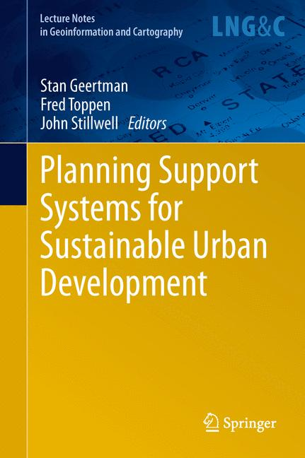 Cover of 'Planning Support Systems for Sustainable Urban Development'