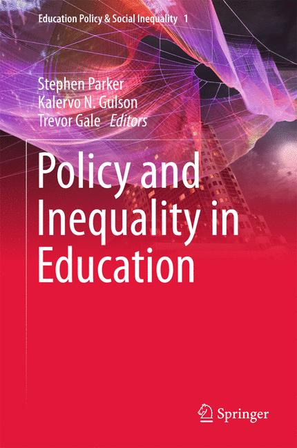 Cover of 'Policy and Inequality in Education'