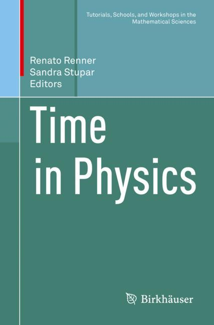 Cover of 'Time in Physics'