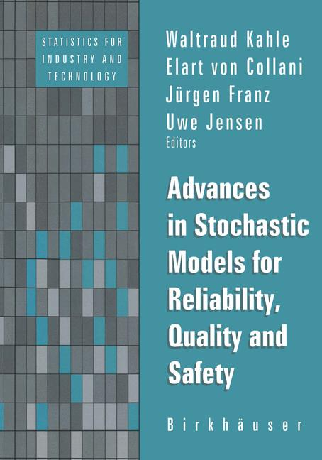 Cover of 'Advances in Stochastic Models for Reliability, Quality and Safety'