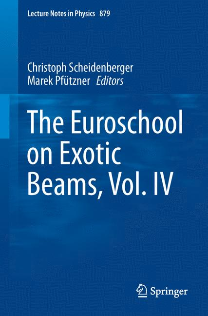 Cover of 'The Euroschool on Exotic Beams, Vol. IV'