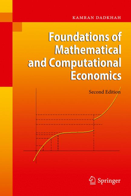 Cover of 'Foundations of Mathematical and Computational Economics'