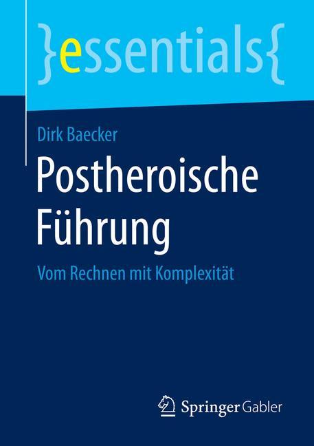 Cover of 'Postheroische Führung'