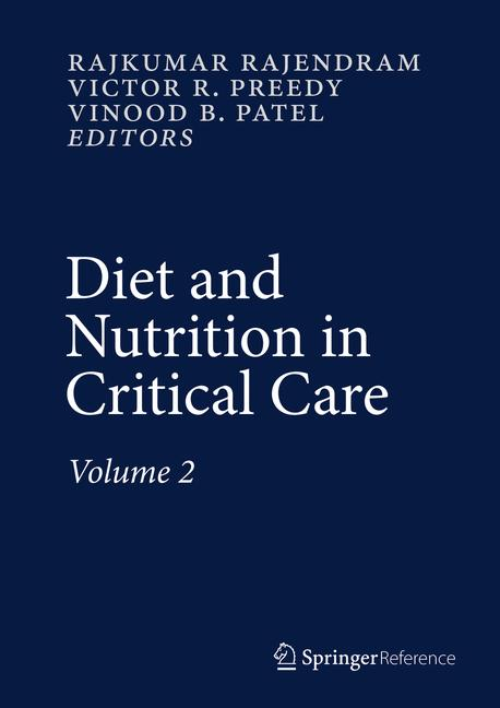 Cover of 'Diet and Nutrition in Critical Care'