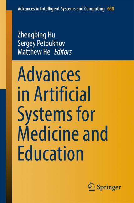 Cover of 'Advances in Artificial Systems for Medicine and Education'