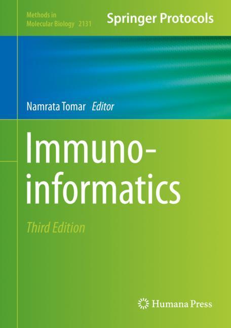 Cover of 'Immunoinformatics'