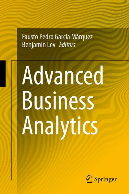 Cover of 'Advanced Business Analytics'