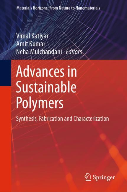 Cover of 'Advances in Sustainable Polymers'