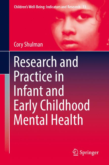 Cover of 'Research and Practice in Infant and Early Childhood Mental Health'