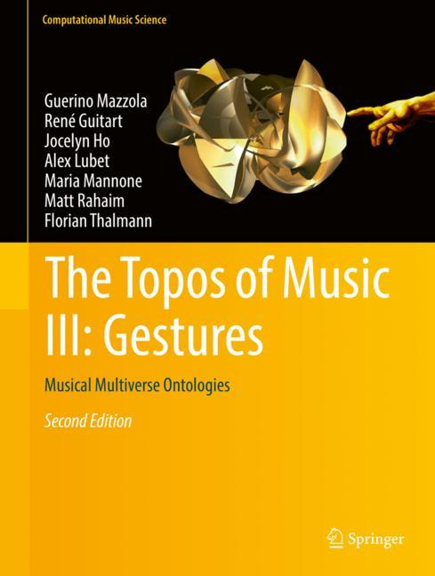 Cover of 'The Topos of Music III: Gestures'