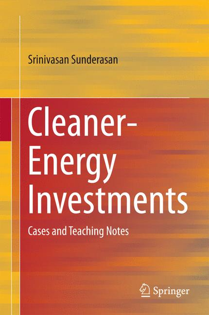 Cover of 'Cleaner-Energy Investments'