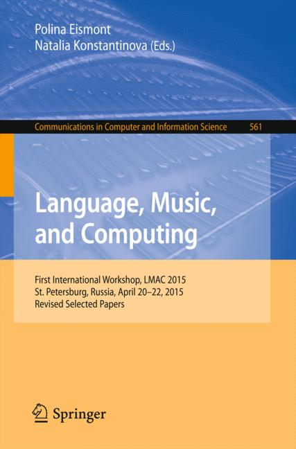 Cover of 'Language, Music, and Computing'