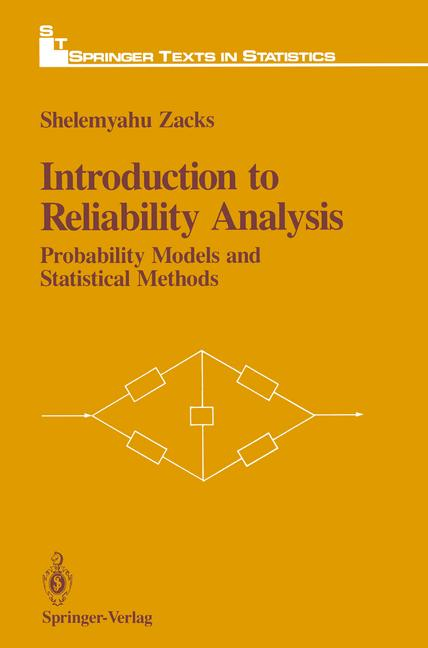 Cover of 'Introduction to Reliability Analysis : Probability Models and Statistical Methods'