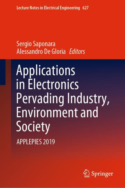 Cover of 'Applications in Electronics Pervading Industry, Environment and Society'