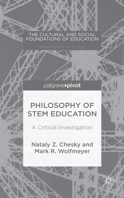 Cover of 'Philosophy of STEM Education'
