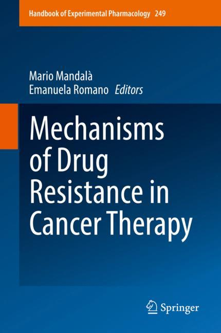 Cover of 'Mechanisms of Drug Resistance in Cancer Therapy'