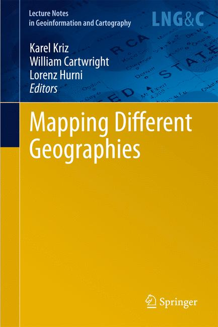 Cover of 'Mapping Different Geographies'