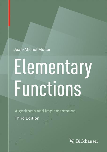 Cover of 'Elementary Functions'