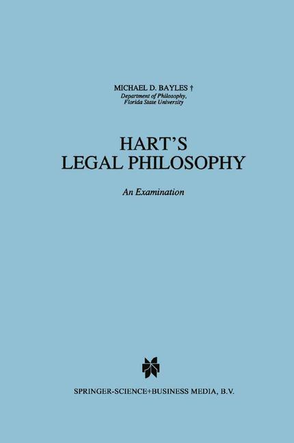 Cover of 'Hart's Legal Philosophy'