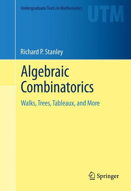 Cover of 'Algebraic Combinatorics'