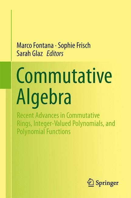 Cover of 'Commutative Algebra'