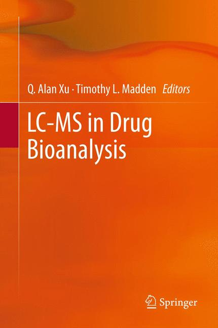 Cover of 'LC-MS in Drug Bioanalysis'