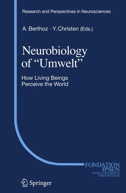"Cover of 'Neurobiology of ""Umwelt""'"