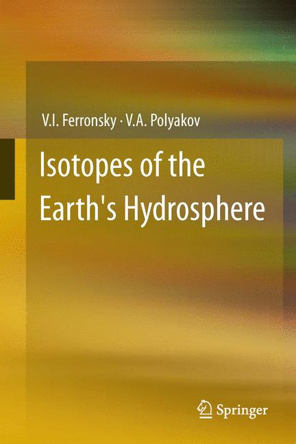 Cover of 'Isotopes of the Earth's Hydrosphere'