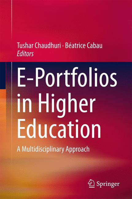 Cover of 'E-Portfolios in Higher Education'