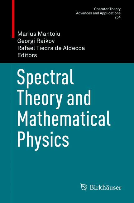 Cover of 'Spectral Theory and Mathematical Physics'