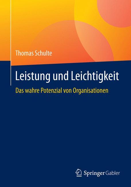Cover of 'Leistung und Leichtigkeit'