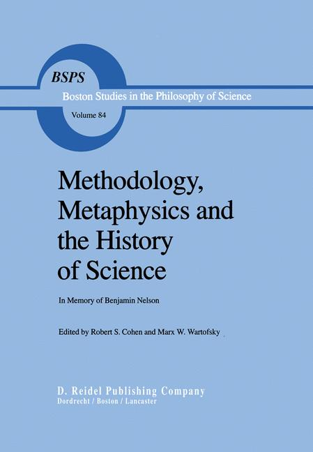 Cover of 'Methodology, Metaphysics and the History of Science'
