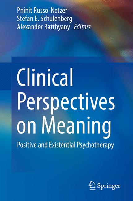 Cover of 'Clinical Perspectives on Meaning'
