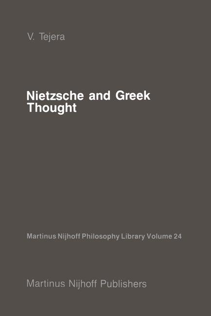 Cover of 'Nietzsche and Greek Thought'