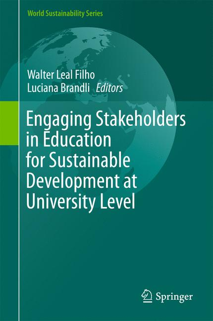 Cover of 'Engaging Stakeholders in Education for Sustainable Development at University Level'
