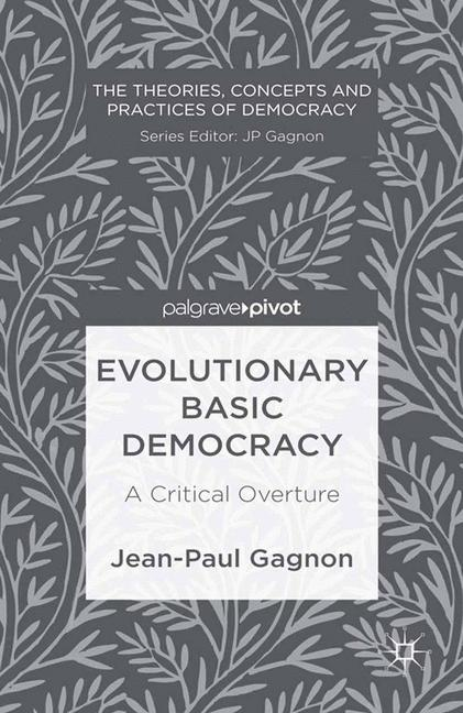 Cover of 'Evolutionary Basic Democracy: A Critical Overture'