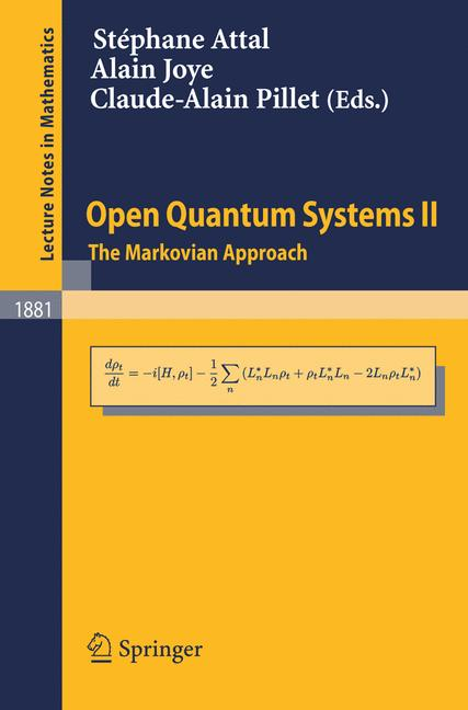 Cover of 'Open Quantum Systems II'
