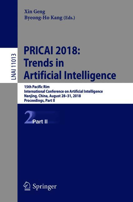 Cover of 'PRICAI 2018: Trends in Artificial Intelligence'
