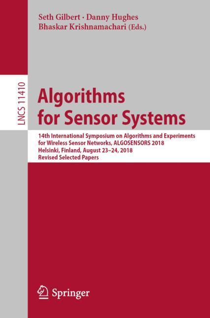 Cover of 'Algorithms for Sensor Systems'