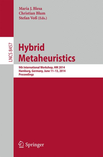 Cover of 'Hybrid Metaheuristics'