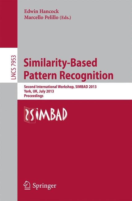 Cover of 'Similarity-Based Pattern Recognition'