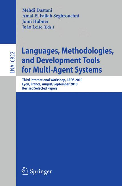 Cover of 'Languages, Methodologies, and Development Tools for Multi-Agent Systems'
