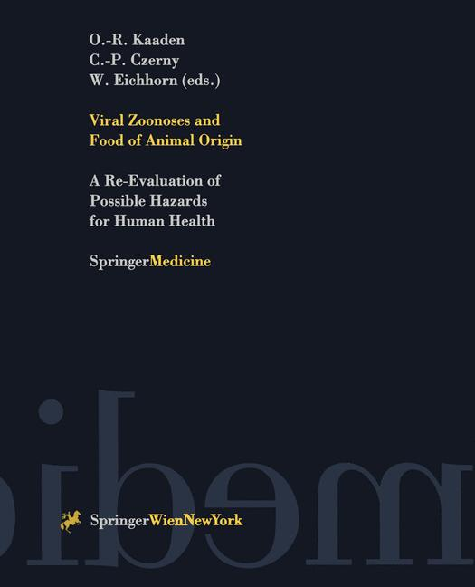 Cover of 'Viral Zoonoses and Food of Animal Origin'