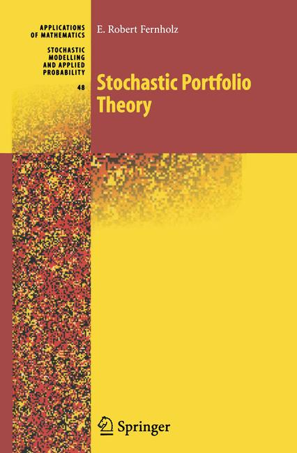 Cover of 'Stochastic Portfolio Theory'