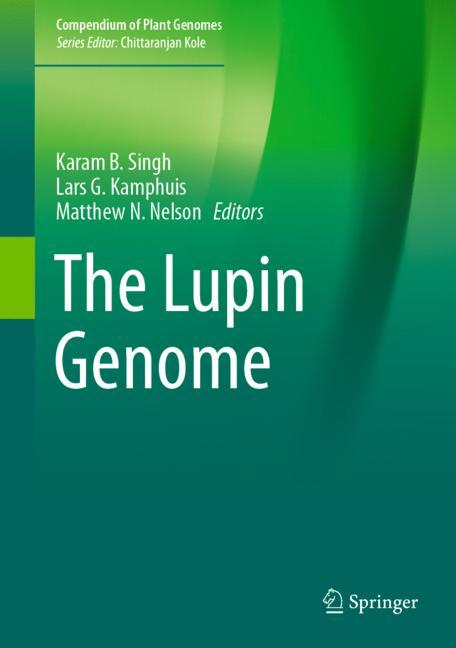 Cover of 'The Lupin Genome'