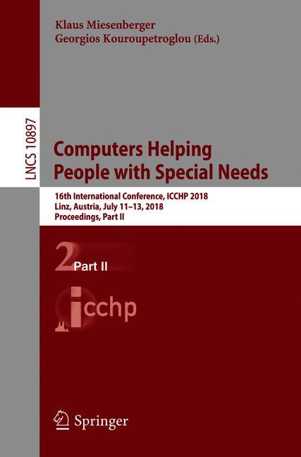 Cover of 'Computers Helping People with Special Needs'