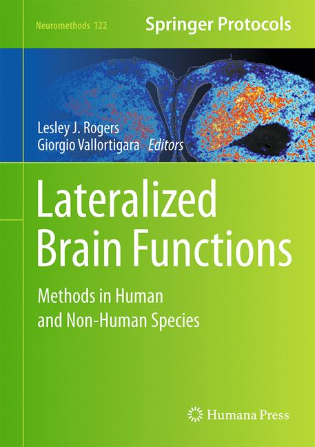 Cover of 'Lateralized Brain Functions'