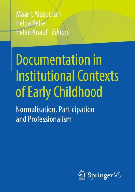 Cover of 'Documentation in Institutional Contexts of Early Childhood'