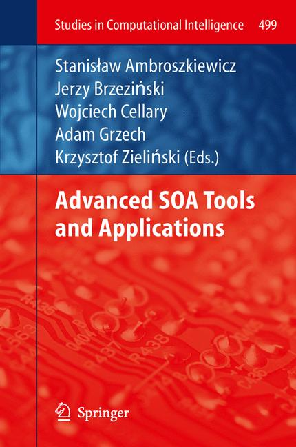 Cover of 'Advanced SOA Tools and Applications'